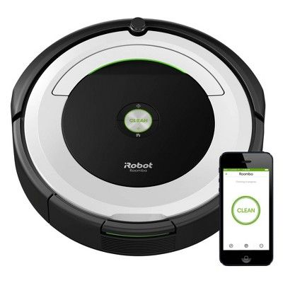 iRobot Roomba 695 Wi-Fi Connected Robot Vacuum