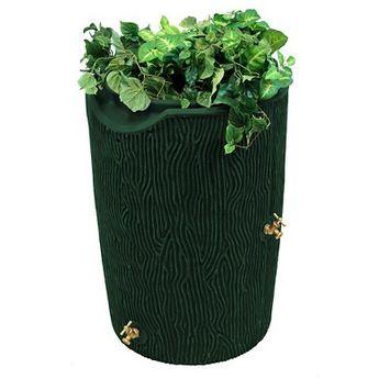 Impressions Bark 50 Gallon Rain Saver - Green - Good Ideas