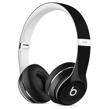 Beats Solo 2 Luxe Edition Wired Headphones - Black