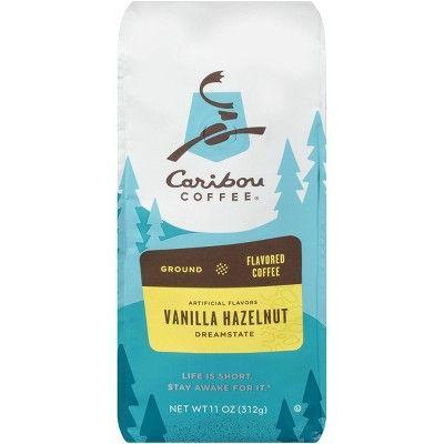 Caribou Vanilla Hazelnut Dreamstate Medium Roast Ground Coffee - 11oz