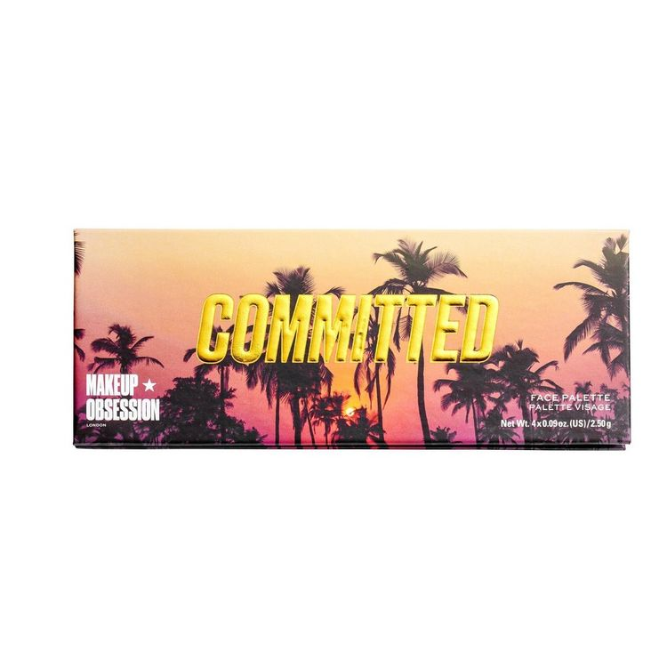 Makeup Obsession Committed Face Highlight Palette - 0.36oz, Multi-Colored