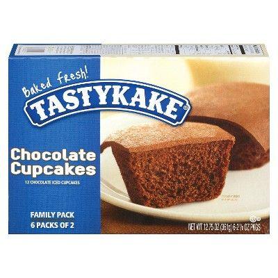Tastykake Chocolate Cupcakes 12ct