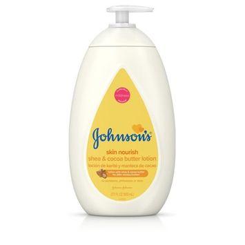 Johnson's Baby Skin Nourish Shea & Cocoa Butter Lotion