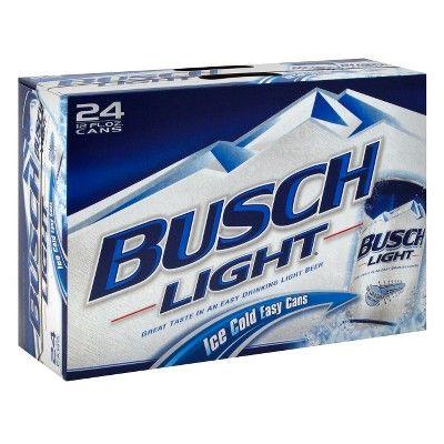 Busch Light Beer - 24pk/12 fl oz Cans