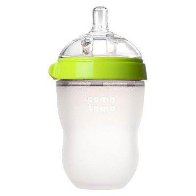 Comotomo Silicone Bottle 8-Oz - Green
