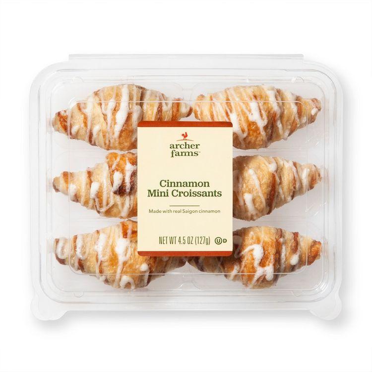 Cinnamon Croissants - 4.5oz/6ct - Archer Farms