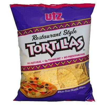 Utz Restaurant Style Tortilla Chips - 11.5oz