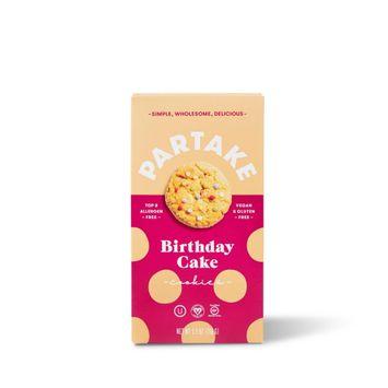 Partake Gluten Free Vegan Birthday Cake Cookies - 5.5oz
