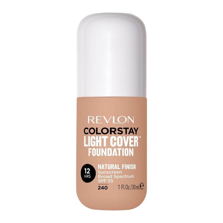 Revlon ColorStay Light Cover Liquid Foundation - Medium Beige - 1 fl oz