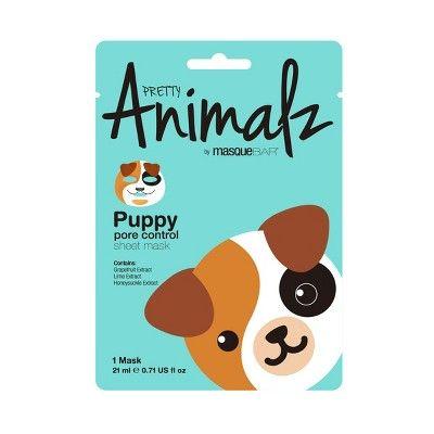 Pretty Animalz by Masque Bar Puppy Pore Control Facial Sheet Mask - 1ct
