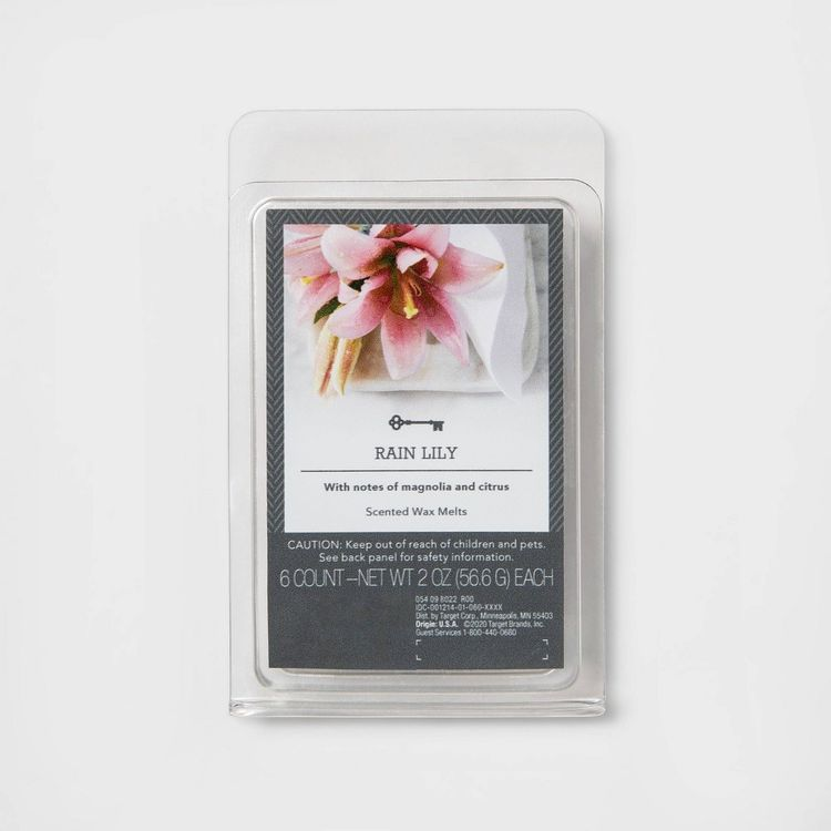 6ct Rain Lily Scented Wax Melts - Threshold