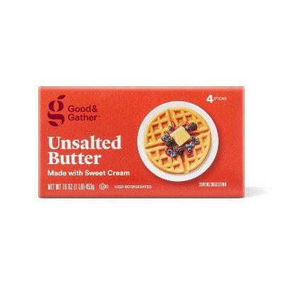 Good & Gather Unsalted Butter - 1lb