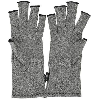 Brownmed IMAK Arthritis Pain Relief Compression Gloves - Small - Gray/Black