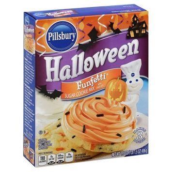 Pillsbury Halloween Funfetti Sugar Cookie Mix - 17.5 oz