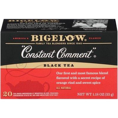 Bigelow Constant Comment Black Tea Bags - 20ct