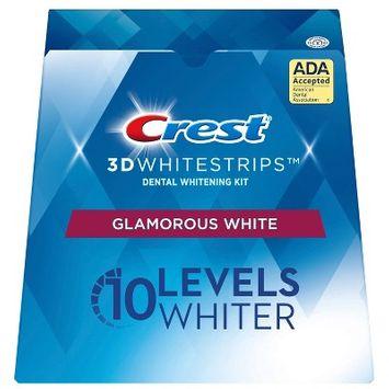 Crest 3D Whitestrips Glamorous White Teeth Whitening Kit - 14 Treatments