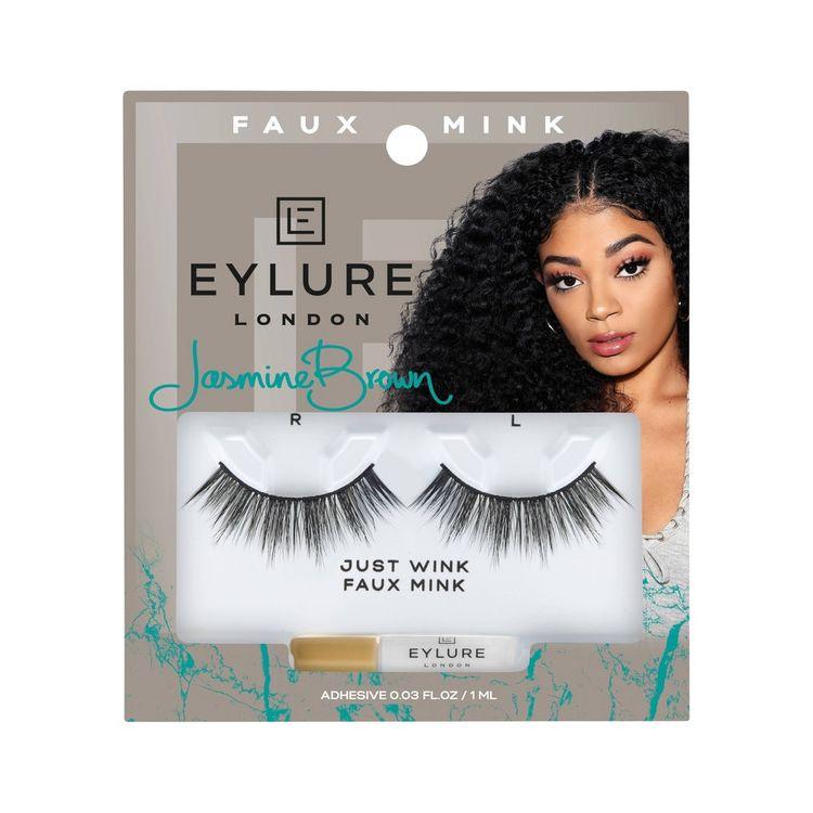 Eylure False Eyelashes Jasmine JustWink Mink - 1pr