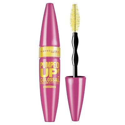 Maybelline® Volum' Express® Pumped Up! Colossal™ Mascara - 216 Waterproof Classic Black