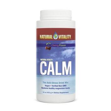 Natural Vitality Natural Calm Magnesium Powder - Cherry