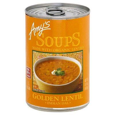 Amy's Soups Organic Golden Lentil Soup - 14.4oz