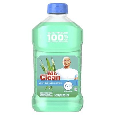 Mr. Clean with Febreze Meadows and Rain Multi-Surface Cleaner - 45 fl oz