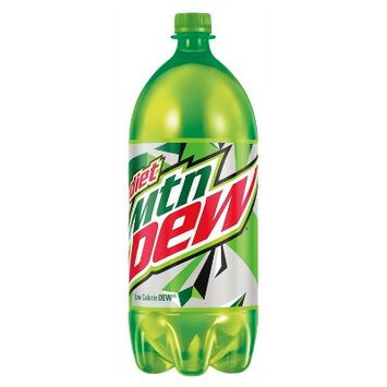 Diet Mountain Dew 0 Calorie Citrus Soda - 2L Bottle