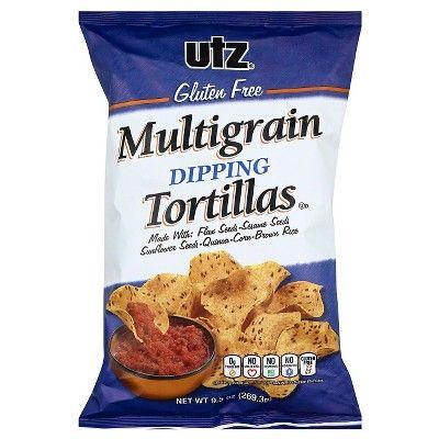 Utz Gluten Free Multigrain Dipping Tortilla Chips - 9.5oz