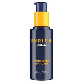 Gillette Enrich Men's Nourishing Beard Oil - 1.7oz