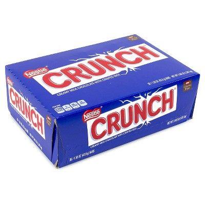 Crunch Chocolate Candy Bars - 1.55oz/36ct
