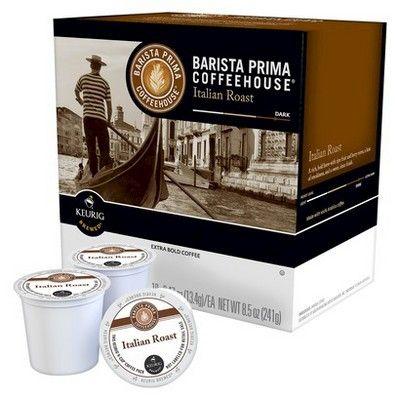 Barista Prima Columbia Medium Dark Roast Coffee - Keurig K-Cup Pods - 18ct