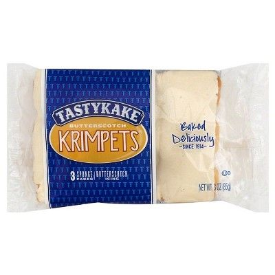 Tastykake Butterscotch Krimpets - 3 oz