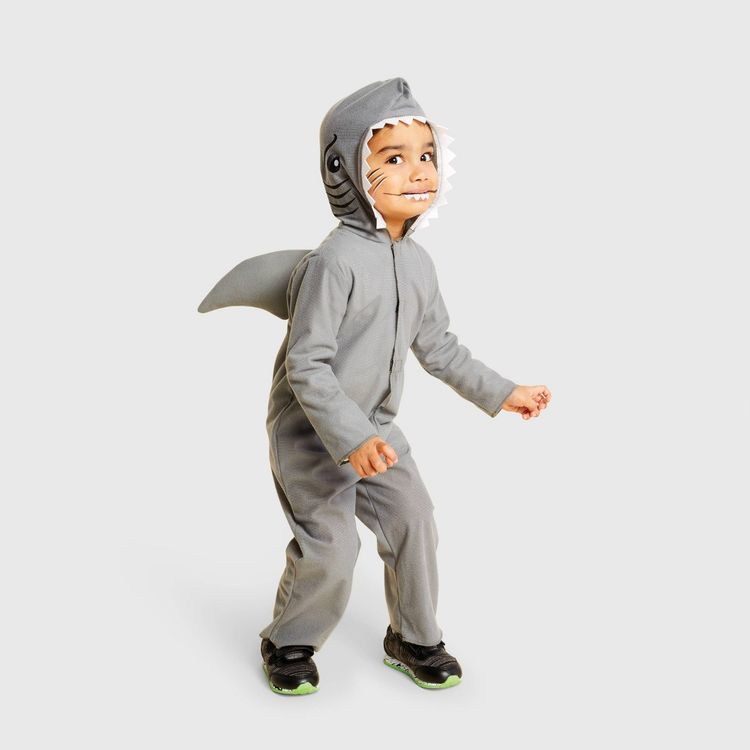 Toddler Shark Halloween Costume 4T-5T - Hyde and Eek! Boutique, Gray