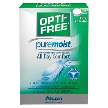 Opti-Free Pure Moist Multi-Purpose Disinfecting Solution - 2.0 fl oz