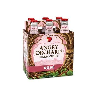 Angry Orchard Rosé Hard Cider - 6pk/12 fl oz Bottles