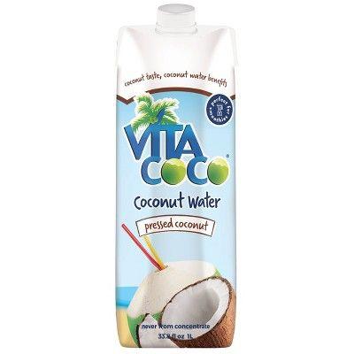 Vita Coco Pressed Coconut Water 1 Litre (pack Of 6)