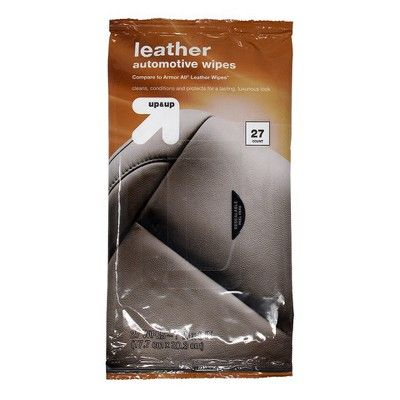 Up & Up Leather Automotive Wipes Pouch 27ct - Up&Up