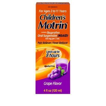 Children's Motrin Pain Reliever/Fever Reducer Liquid - Ibuprofen (NSAID) - Grape - 4 fl oz
