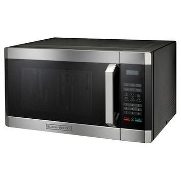 BLACK+DECKER 1.6 Cu. Ft. 1100 Watt Microwave Oven