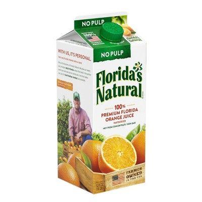 Florida's Natural No Pulp Orange Juice - 59 fl oz