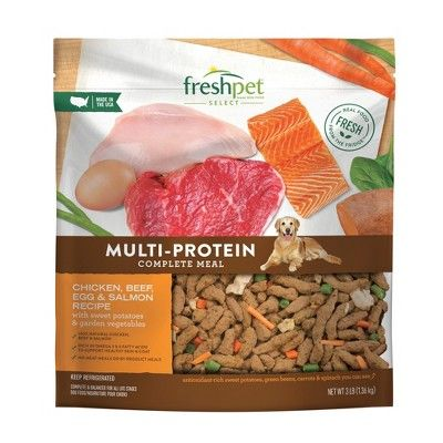 Freshpet Select Multi Protein Roasted Meals - Refrigerated Wet Dog Food - 3lbs