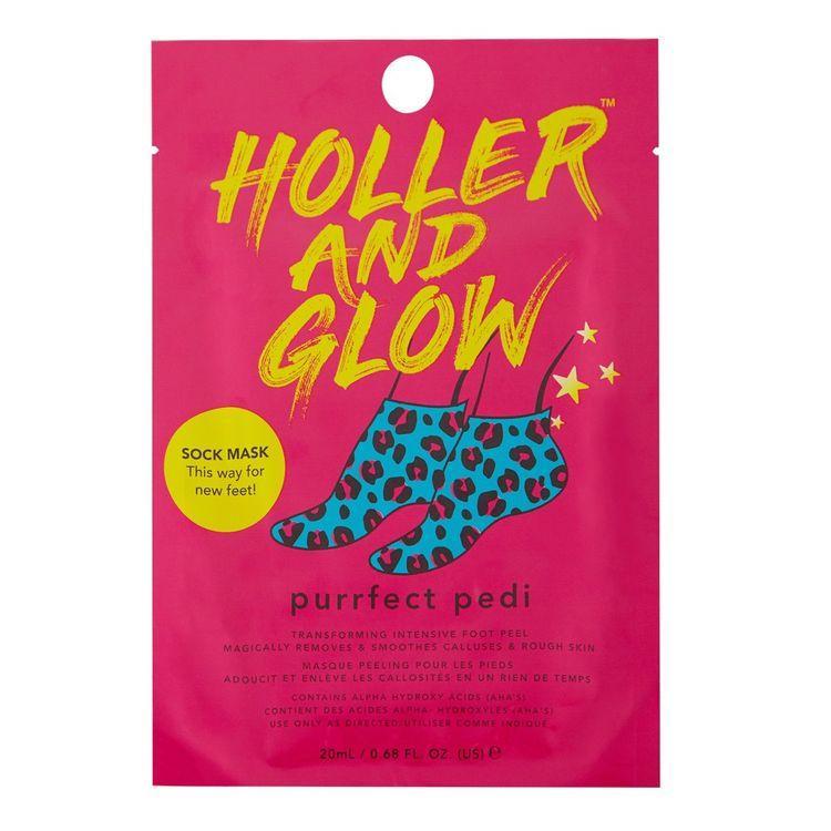 Holler and Glow Purrfect Pedi Body Mask - .68 fl oz