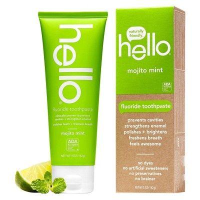 Hello Mojito Mint Fluoride Toothpaste - 5 oz
