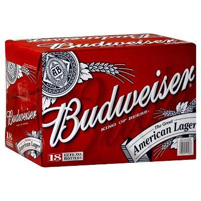 Budweiser Beer - 18pk/12 fl oz Bottles
