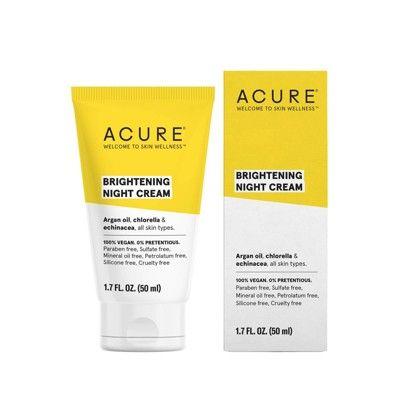 Acure Brightening Night Cream - 1.7 fl oz