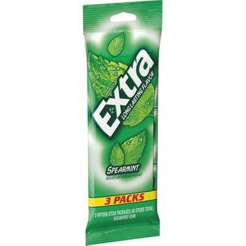 Extra Spearmint Sugar-Free Gum Multipack - 15 sticks/3pk