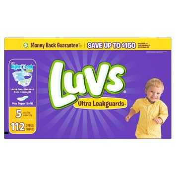 Luvs Diapers, Value Pack - Size 5 (112 ct)