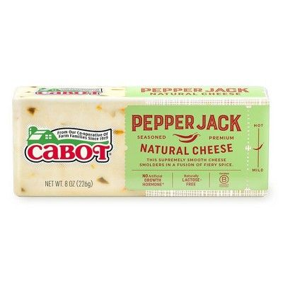 Cabot Creamery Pepper Jack Cheese - 8oz
