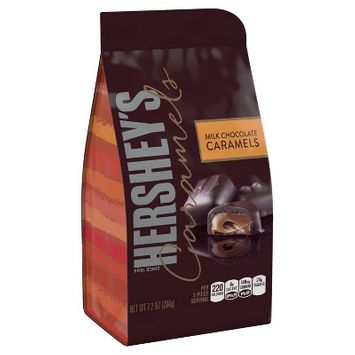 HERSHEY'S Milk Chocolate Caramels - 7.2oz