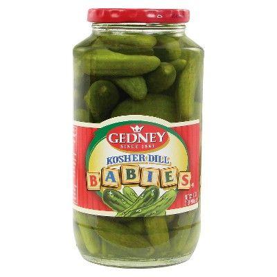 Gedney Kosher Baby Dill Pickles - 32oz