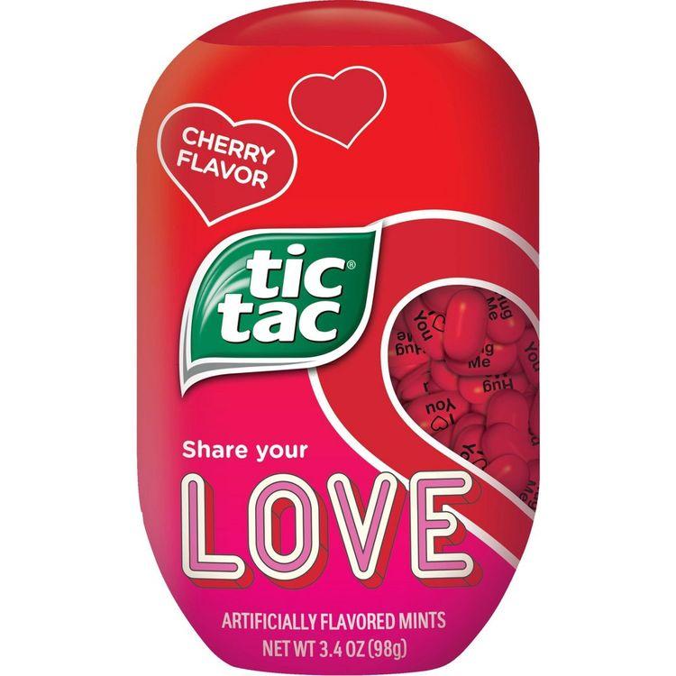 Tic Tac Valentine's Day Cherry Bottle Pack - 3.4oz